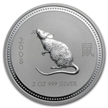 Perth Mint Silver (2008 Mouse Coins) (Series 1)