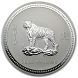 Perth Mint Silver (2010 Tiger Coins) (Series 1)
