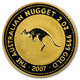 2 oz Gold Nugget Coins