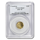 $5.00 US Gold Commems (PCGS Certified)