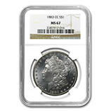 Morgan Dollars (1878 - 1904) (NGC Date Specific)