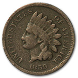 Indian Head Cents (1859 - 1909)