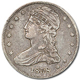 Reeded Edge Half Dollars (1836 - 1839)