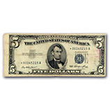 1953 $5 Silver Certificates
