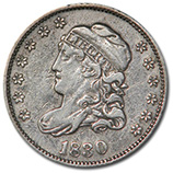 Early Half Dimes (1794 - 1837)