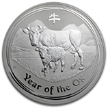 Perth Mint Silver (2009 Ox Coins) (Series 2)