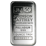 Johnson Matthey (Palladium Bars & Rounds)