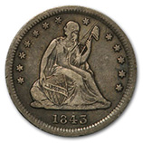 Liberty Seated Quarters (1839 - 1891)