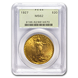 PCGS $20 Double Eagles (Saint Gaudens 1907-1933)