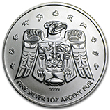 2009 (1 oz) Silver Olympic Thunderbird Totem Coins