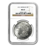 Morgan Dollars (1921) (NGC Certified)