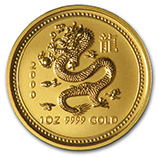 Perth Mint Gold (2000 Dragon Coins)
