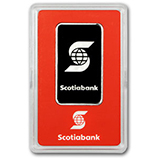 Scotiabank (Platinum Bars & Rounds)