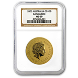 1 oz Gold Nugget Coins (NGC Certified)