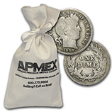 Barber Dimes (1892 - 1916) (Silver Coins, Rolls & Bags)