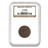 2 Cent Pieces (1864 - 1873) (Certified)