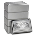 Stackable APMEX Silver Bars