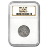 Twenty Cent Pieces (1875 - 1878) (Certified)