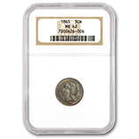 3 Cent Nickels (1865 - 1889) (Certified)