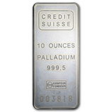 10 oz (Palladium Bars & Rounds)