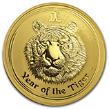 Perth Mint Gold (2010 Tiger Coins)