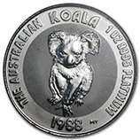 1 oz & Larger Platinum Koalas