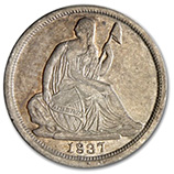 Liberty Seated Half Dimes (1837 - 1873)
