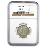 Liberty Seated Quarters (1838 - 1891) (Certified)