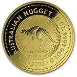 10 oz Gold Nugget Coins