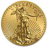 1 oz Gold Eagles (Burnished)