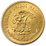 Gold 20 Pesos  (1959 & Prior)