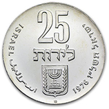 Silver & Other Coins from Israel