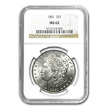 Morgan Dollars (1878 - 1904) (NGC Certified)
