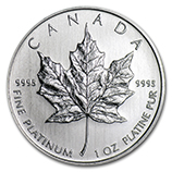 RCM Royal Canadian Mint (Platinum Coins)