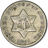 3 Cent Silver (1851 - 1873)