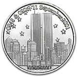 September 11, 2001 (Silver Bars & Rounds)