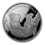Perth Mint Koala Coins (5 oz Size)