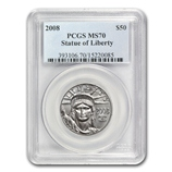 1/2 oz Platinum Eagles (PCGS Certified)