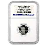 1/4 oz Proof Platinum Eagles (NGC Certified)
