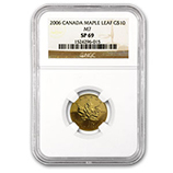 1/4 oz Gold Maple Leafs (NGC Certified)