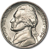 Jefferson Nickels (1938 - Date)