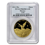 Proof Gold Libertads (PCGS Certified)