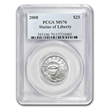 1/4 oz Platinum Eagles (PCGS Certified)