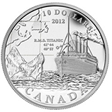 2012 RCM Silver Commemorative Collectible Coins
