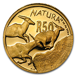 1/2 oz South Africa Natura Coins