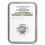 Fractional Silver Britannias (Proof) (NGC Certified)
