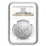 2011 RCM Silver Commemorative Collectible Coins (NGC Certified)