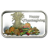 Holiday Themed (Silver Bars & Rounds)