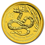 Perth Mint Gold (2013 Snake Coins)