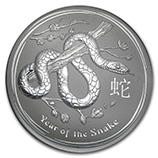 Perth Mint Silver (2013 Snake Coins) (Series 2)